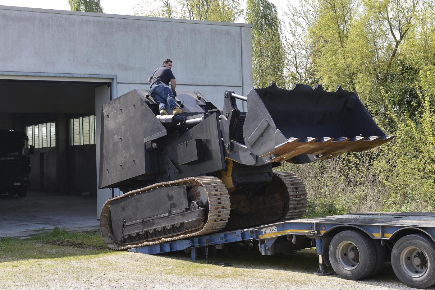 Blitz contro secessionisti veneti, sequestrato tanko nel Padovano